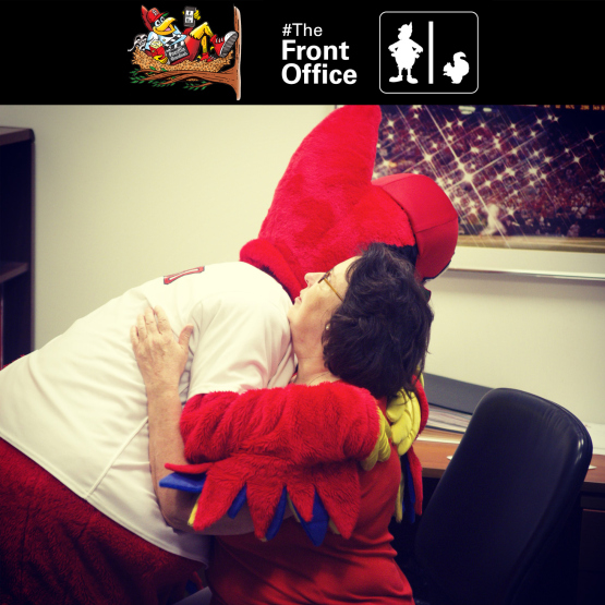 The Cardinals created the instagram video series #TheFrontOffice, a mascot/mockumentary during the summer of 2013 as an experiment with social-media based brand entertainment.